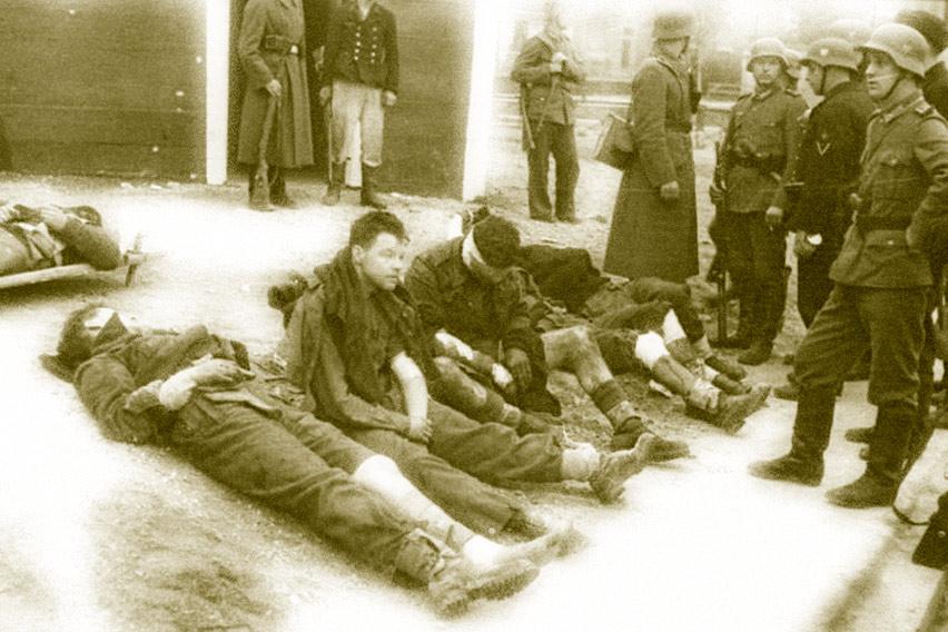 ReachingAwe: On Dying Early - St. Naziere Raid - captured commandos