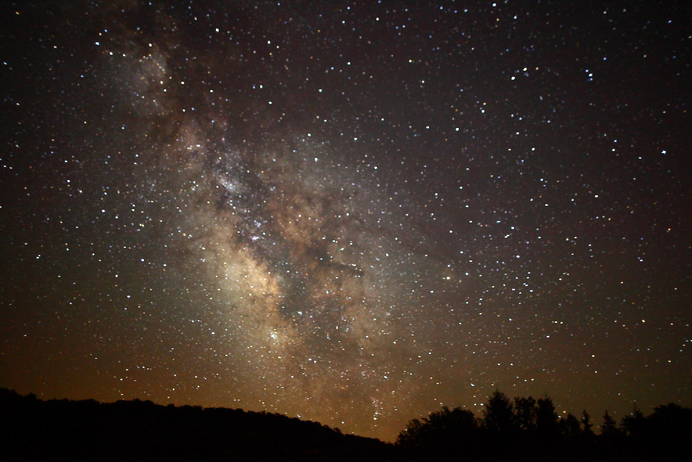 One-third of humanity can no longer view the Milky Way (Photo credit: Forest Wander)